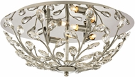 ELK 45261-4 Crystique Polished Chrome Halogen Ceiling Light