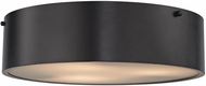 ELK 45320-3 Clayton Contemporary Oil Rubbed Bronze Flush Mount Lighting