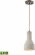 ELK 45331-1-LED Urban Form Modern Black Nickel LED Mini Lighting Pendant
