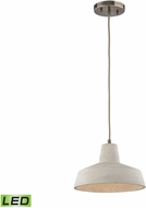 ELK 45332-1-LED Urban Form Contemporary Black Nickel LED Mini Pendant Lamp