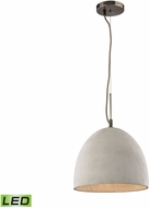 ELK 45334-1-LED Urban Form Modern Black Nickel LED Mini Hanging Lamp