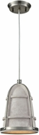 ELK 45335-1 Urban Form Modern Black Nickel Lighting Pendant