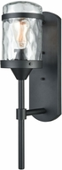 ELK 45401-1 Torch Contemporary Charcoal Black Exterior Wall Light Sconce
