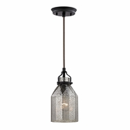 ELK 46009-1 Danica Modern Oil Rubbed Bronze Mini Hanging Lamp