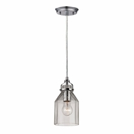 ELK 46019-1 Danica Contemporary Polished Chrome Mini Drop Lighting Fixture