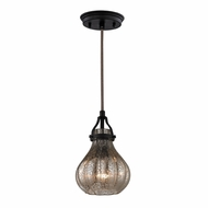 ELK 46024-1 Danica Modern Oil Rubbed Bronze Mini Hanging Pendant Lighting