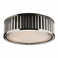 ELK 46101-3 Linden Polished Nickel Overhead Light Fixture