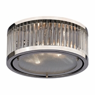ELK 46102-2 Linden Polished Nickel Overhead Lighting Fixture