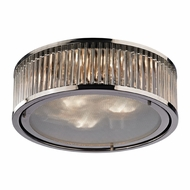 ELK 46103-3 Linden Polished Nickel Ceiling Lighting