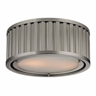 ELK 46110-2 Linden Brushed Nickel Ceiling Light