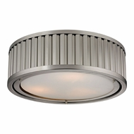 ELK 46111-3 Linden Brushed Nickel Ceiling Light Fixture