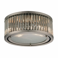ELK 46112-2 Linden Brushed Nickel Ceiling Lighting Fixture