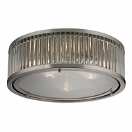 ELK 46113-3 Linden Brushed Nickel Ceiling Light Fixture