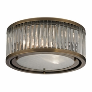 ELK 46122-2 Linden Aged Brass Overhead Lighting