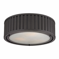 ELK 46131-3 Linden Oil Rubbed Bronze Flush Ceiling Light Fixture