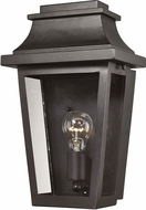 ELK 46190-1 Covina Matte Black Outdoor Wall Mounted Lamp