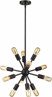ELK 46230-12 Delphine Modern Oil Rubbed Bronze Mini Chandelier Lighting