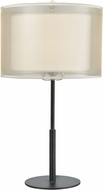 ELK 46264-1 Ashland Matte Black Table Lamp