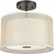 ELK 46266-2 Ashland Matte Black 12  Ceiling Light Fixture
