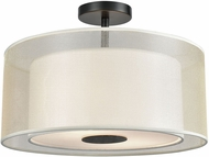 ELK 46267-2 Ashland Matte Black 16  Flush Lighting