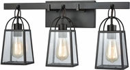 ELK 46272-3 Barnside Oil Rubbed Bronze 3-Light Bathroom Vanity Lighting