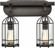 ELK 46281-2 Southwick Modern Oil Rubbed Bronze 2-Light Bathroom Sconce