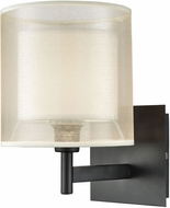 ELK 46300-1 Ashland Matte Black Wall Sconce Lighting