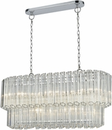 ELK 46314-5 Carrington Modern Polished Chrome Island Light Fixture