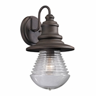 ELK 47045-1 Westport Weathered Charcoal Outdoor Wall Light Sconce