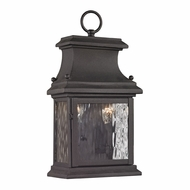 ELK 47050-2 Forged Provincial Traditional Charcoal Exterior Wall Lighting Fixture