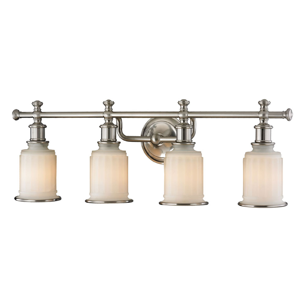 ELK 52003-4 Acadia Brushed Nickel 4-Light Vanity Light - ELK-52003-4