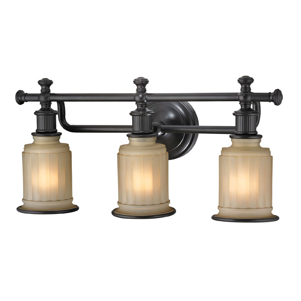bronze light fixtures elk 52012 3 acadia rubbed bronze 3 light bath lighting 28913