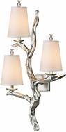 ELK 55004-3 Sprig Contemporary Silver Leaf Wall Mounted Lamp
