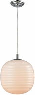 ELK 56560-1 Beehive Contemporary Polished Chrome Mini Hanging Light Fixture