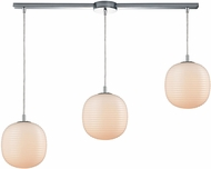 ELK 56560-3L Beehive Contemporary Polished Chrome Multi Drop Ceiling Lighting