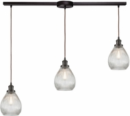 ELK 56582-3L Jackson Contemporary Oil Rubbed Bronze Multi Drop Lighting