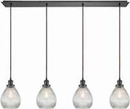 ELK 56582-4LP Jackson Contemporary Oil Rubbed Bronze Multi Ceiling Light Pendant