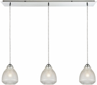 ELK 56590-3LP Victoriana Contemporary Polished Chrome Multi Hanging Pendant Lighting