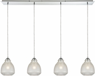 ELK 56590-4LP Victoriana Modern Polished Chrome Multi Hanging Pendant Light