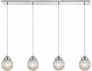 ELK 56591-4LP Victoriana Modern Polished Chrome Multi Ceiling Pendant Light