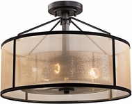 ELK 57024-3 Diffusion Oil Rubbed Bronze Home Ceiling Lighting