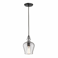 ELK 60066-1 Menlow Park Modern Oil Rubbed Bronze Mini Pendant Light Fixture