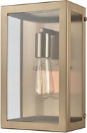 ELK 63080-1 Parameters Contemporary Satin Brass Light Sconce