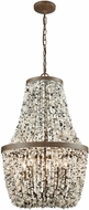 ELK 65308-5 Agate Stones Contemporary Weathered Bronze Pendant Lighting