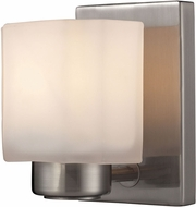 ELK 66185-1 New Haven Modern Brushed Nickel Wall Lamp
