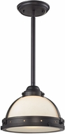 ELK 66360-1 Braiden Modern Oil Rubbed Bronze Mini Hanging Light Fixture