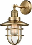 ELK 66386-1 Seaport Satin Brass Wall Mounted Lamp