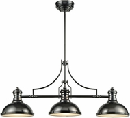 ELK 66605-3 Chadwick Modern Black Nickel Island Lighting