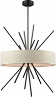 ELK 66914-5 Xenia Modern Oil Rubbed Bronze Drum Drop Lighting