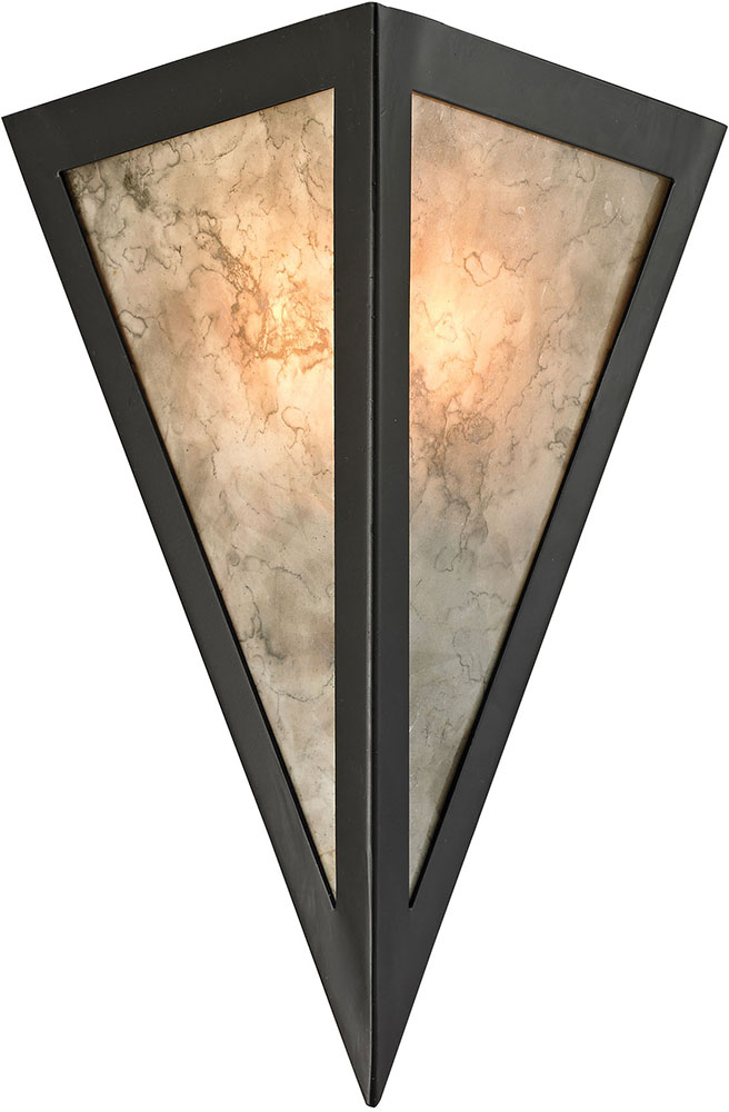 ELK 66930 1 Mica Contemporary Oil Rubbed Bronze Wall Sconce Light. Loading  Zoom